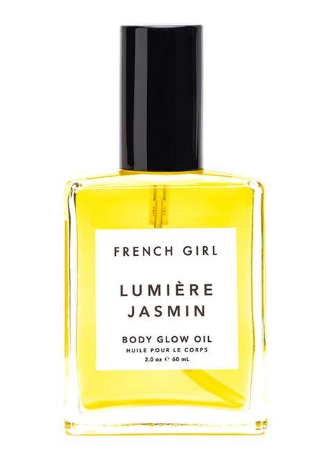 beauty essentials voor meer glow   body glow oil french girl