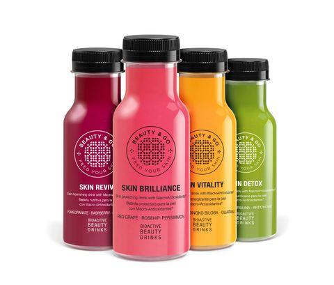 Bottle, Product, Vegetable juice, Plastic bottle, Drink, Juice, Material property, Water bottle, Hair care,