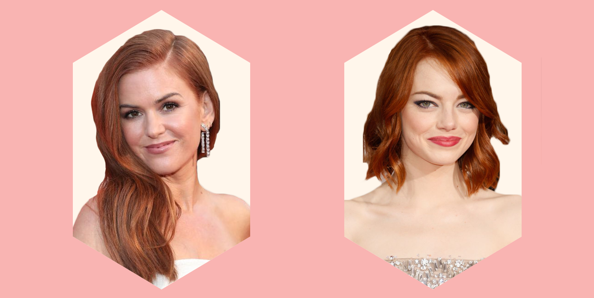 Hair Styles Online: 30 Red Hair Color Shade Ideas For 2019