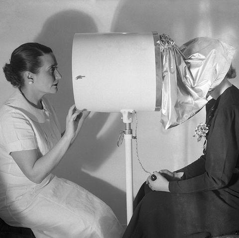 vintage beauty regimen skin examination