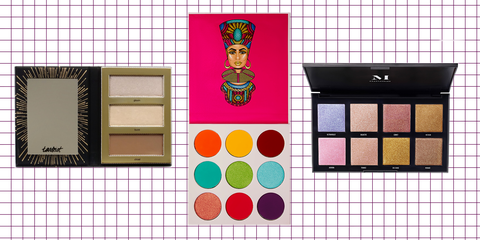 Eye shadow, Eye, Beauty, Organ, Human body, Material property, Tints and shades, Cosmetics, Rectangle,