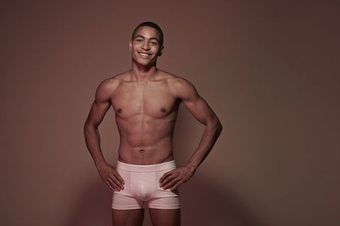 Barechested, Underpants, Briefs, Undergarment, Clothing, Undergarment, Muscle, Standing, Chest, Stomach,
