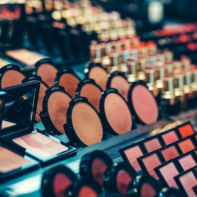 beauty products for sale at market