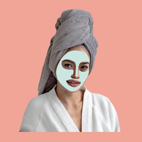 Turban, Skin, Clothing, Head, Headgear, Lip, Human, Illustration, Peach, Eyelash,