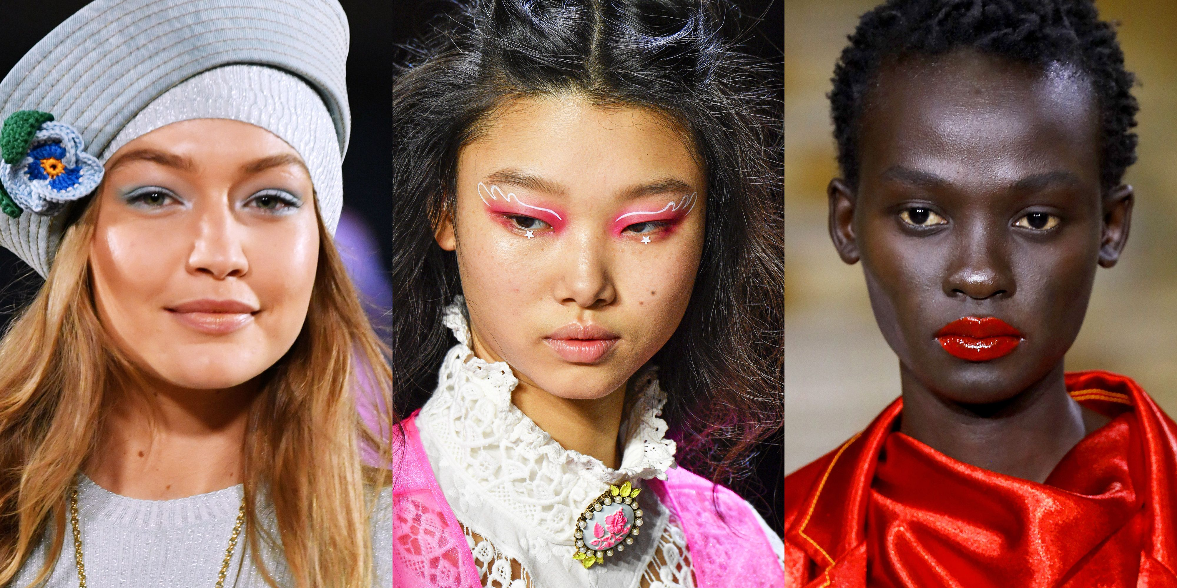 Exciting Spring 2020 Makeup Looks from the Runways