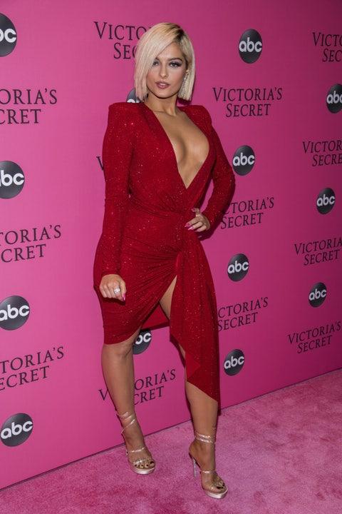 Clothing, Red, Dress, Red carpet, Pink, Cocktail dress, Carpet, Shoulder, Fashion, Magenta,