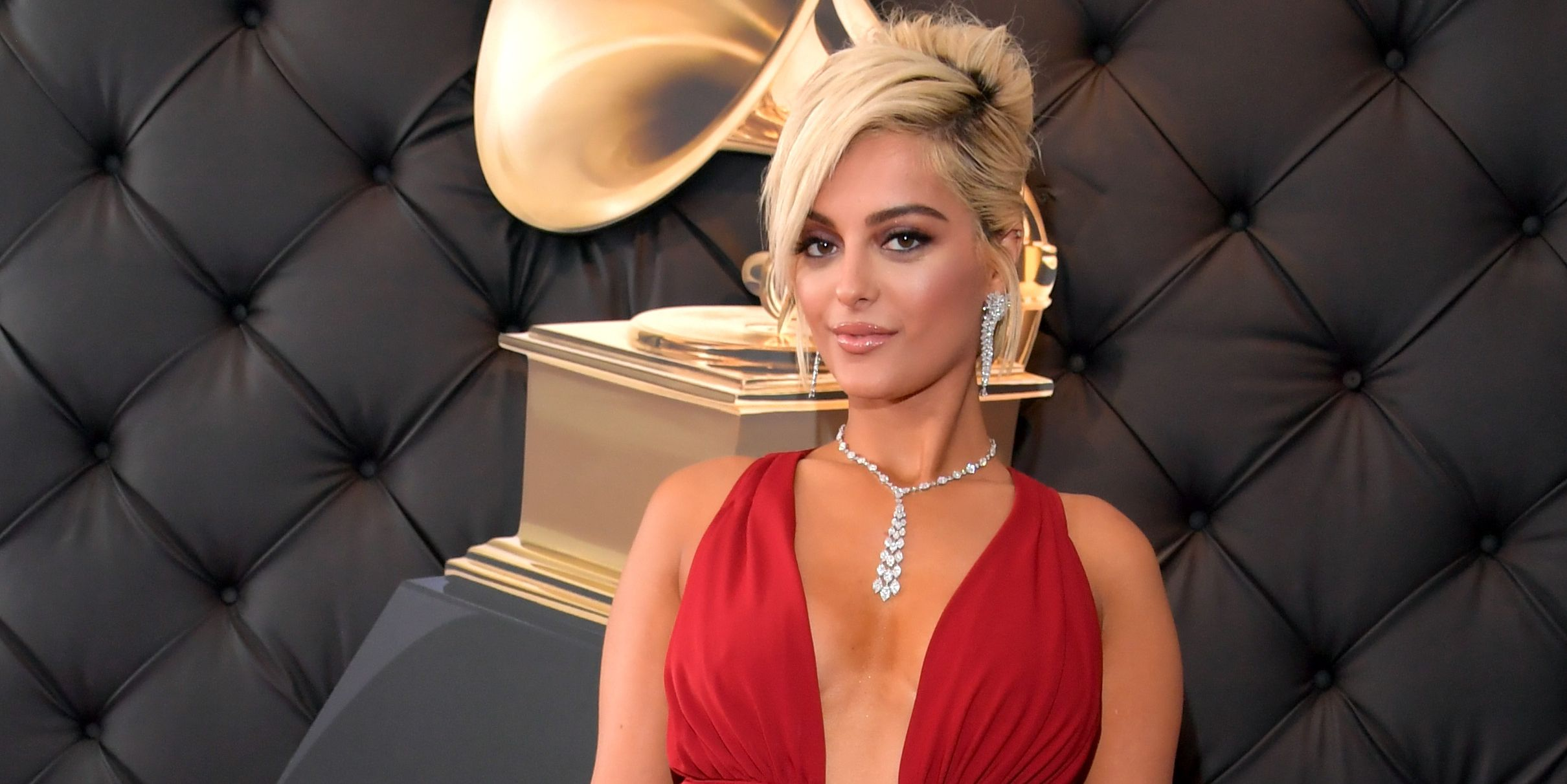 Bebe Rexha Looks Amazing at the Grammys, No Thanks to the Designers Who Wouldn't Dress Her