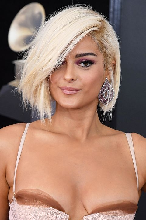 top hair cut style 50 best bob styles of 2018 bob haircuts amp hairstyles for 3735 | bebe rexha hair 1520011519