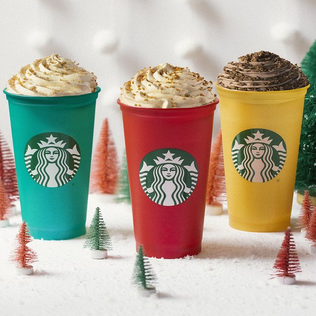 bebidas de navidad de starbucks