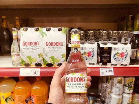 Bebidas alcohólicas que no lo son.Gin tonics, mojitos o piñas coladas sin alcohol, ¿saben a lo que prometen?