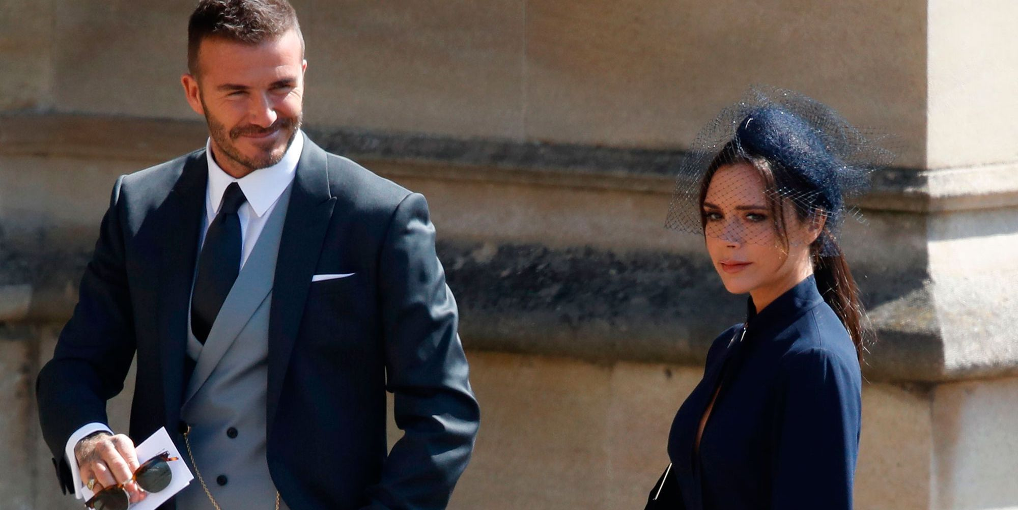 David and Victoria Beckham royal wedding