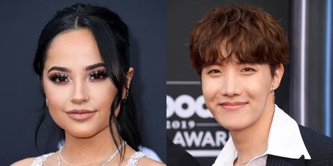 BTS and Becky G Hint at Possible Collaboration