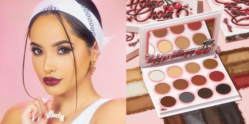 "Becky G Just Released Her '90s-Inspired ""Hola Chola"" Collection With ColourPop Cosmetics"
