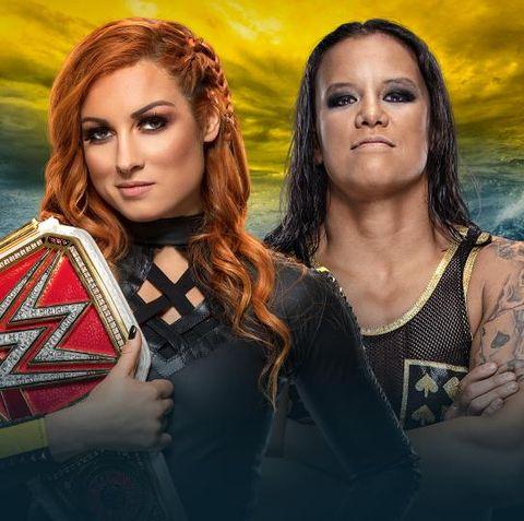 WWE WrestleMania 36: Becky Lynch vs Shayna Baszler