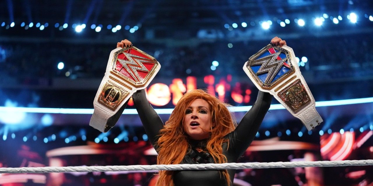 Becky Lynch at WrestleMania 35