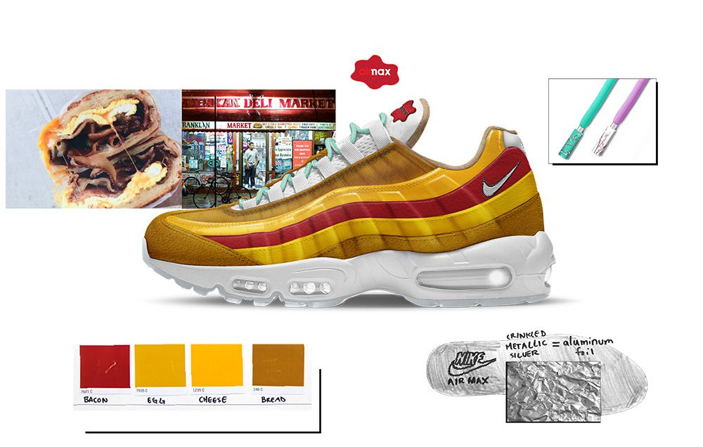 on sale 4eaa3 07d27 Nike Air Max - Bacon, Egg, and Cheese Shoes