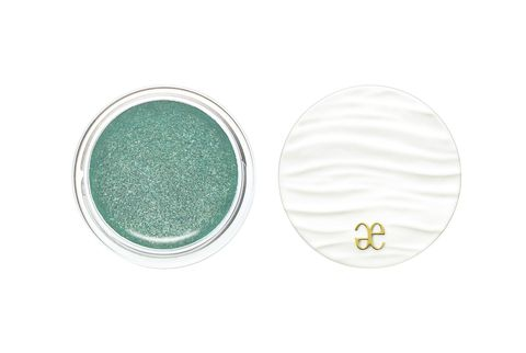 Green, Aqua, Turquoise, Eye shadow, Product, Eye, Teal, Glitter, Circle, Turquoise,