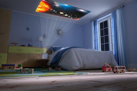 女孩專屬的耍廢神器!EPSON�「攜帶式投影機」3大亮點,躺在床上用超大螢幕追劇好享受~
