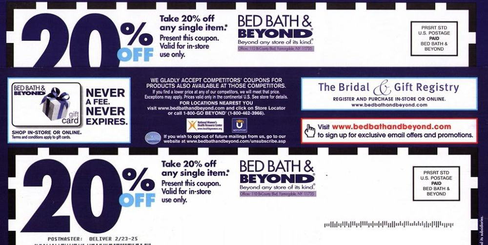 Hold On to Your Beloved Bed Bath   Beyond Coupons While They Still Exist. Hold On to Your Beloved Bed Bath   Beyond Coupons While They Still