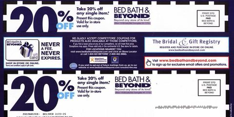 How Much Do Web Coupons Tell Retailers >> Hold On To Your Beloved Bed Bath Beyond Coupons While They Still Exist