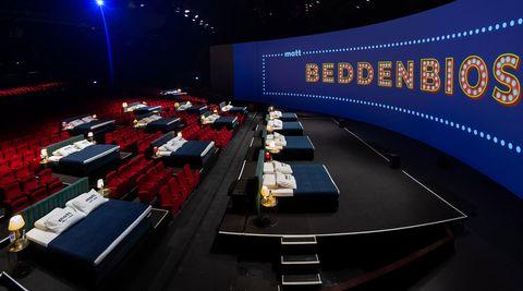 de beddenbioscoop in amsterdam van joep verbunt zijn matt sleeps
