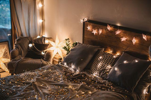 bedroom fairy lights, fairy lights inspiration, fairy lights bedroom