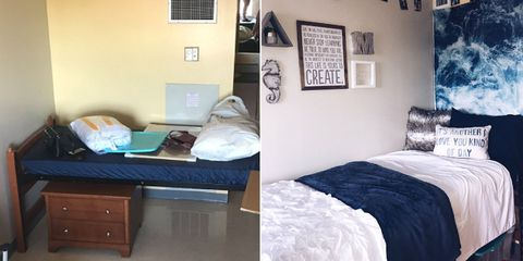 11 Small Bedroom Transformations To Give You Ideas For Your Own Uni Halls