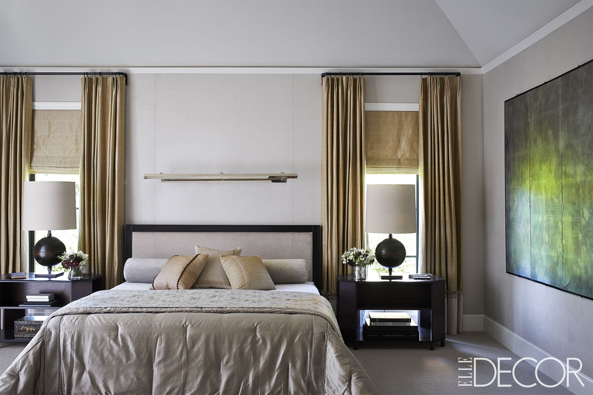 Lighting Ideas For Bedroom Ceilings Part - 39: Elle Decor