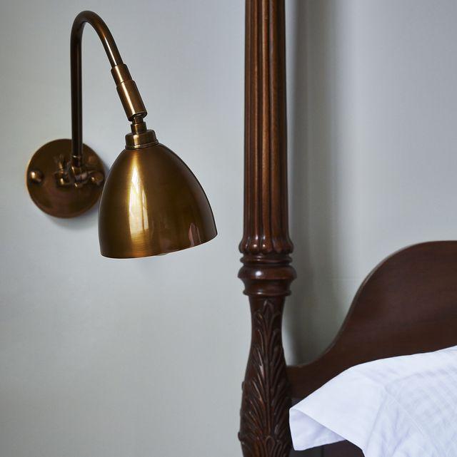 bedroom lighting ideas   pooky jasmine wall light