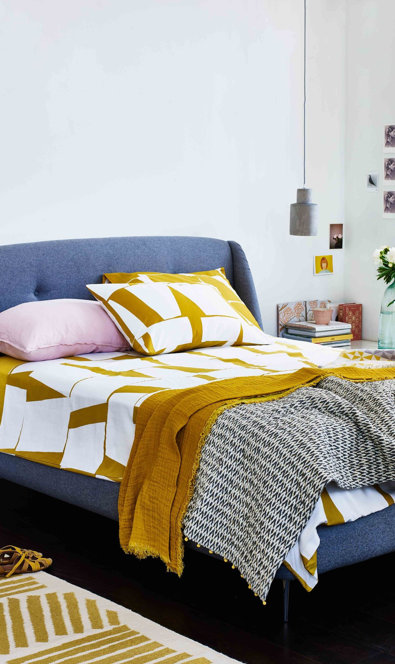 Ochre colour style inspiration
