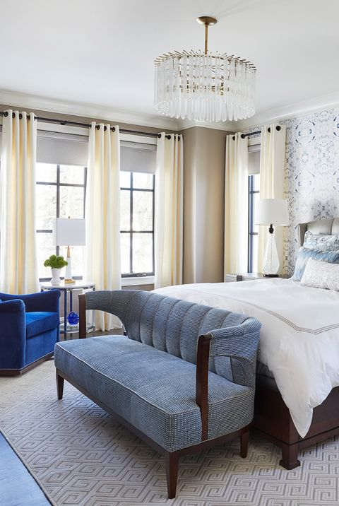 Paint Color Ideas For Bedrooms, Blue Painted Bedroom Furniture Ideas