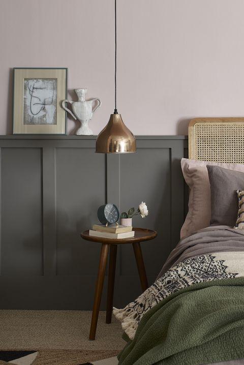 pink bedroom, dulux heritage