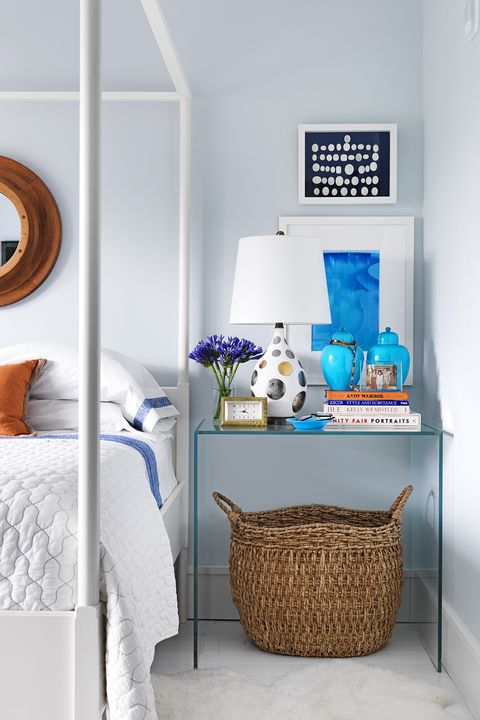 bedroom storage ideas - hamper