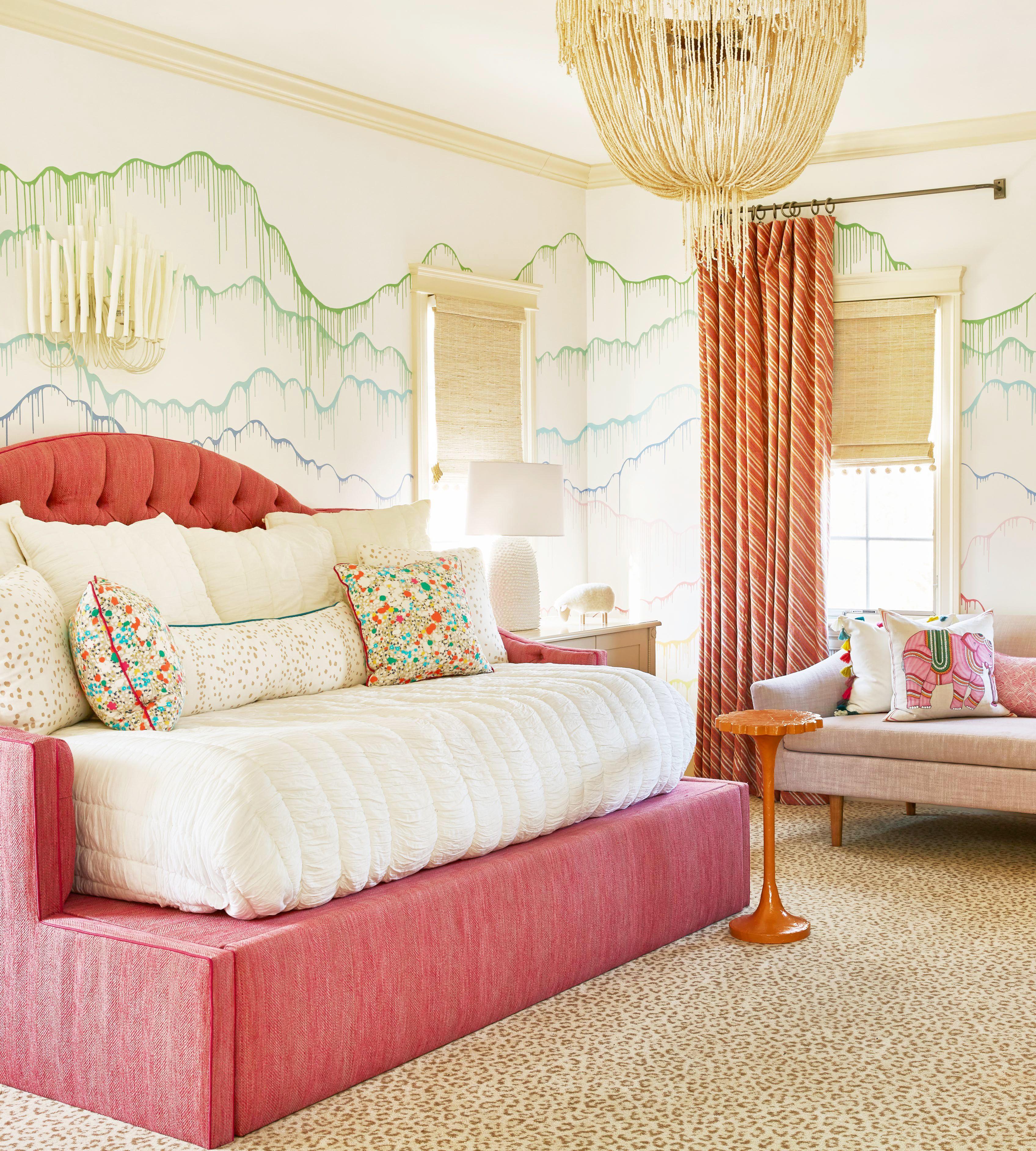 bedroom wall design toldedo full size upholstered daybed splatter paint wallpaper 1576083720
