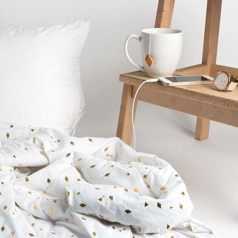 White, Bedding, Bed sheet, Textile, Furniture, Pillow, Linens, Duvet, Room, Bedroom,