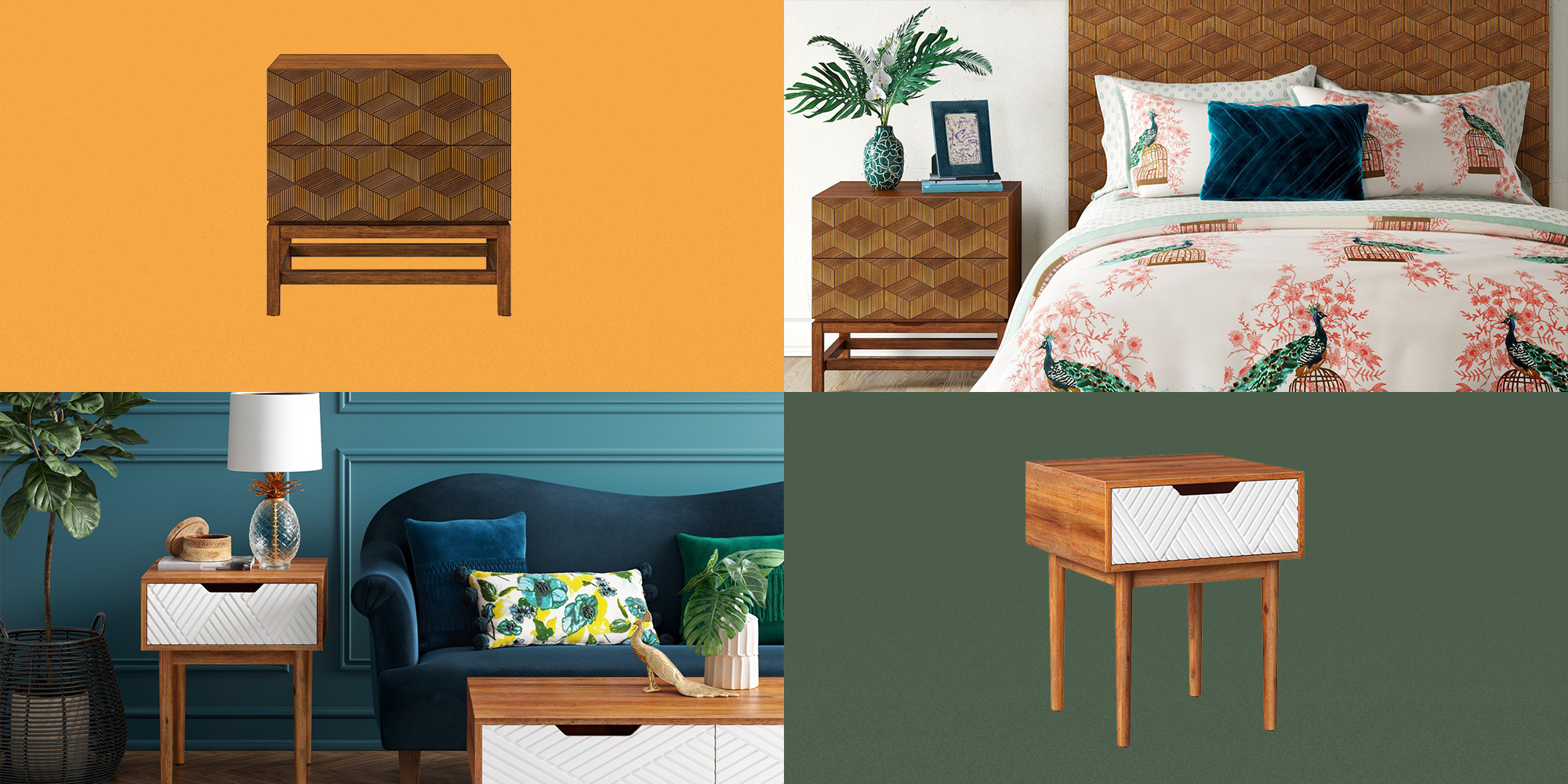 10 Actually Stylish Bedside Tables That Won't Keep You Up At Night