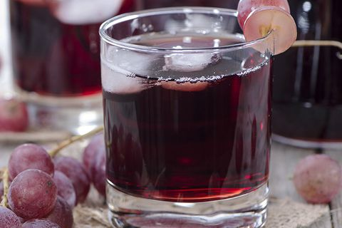 bedtime grape juice