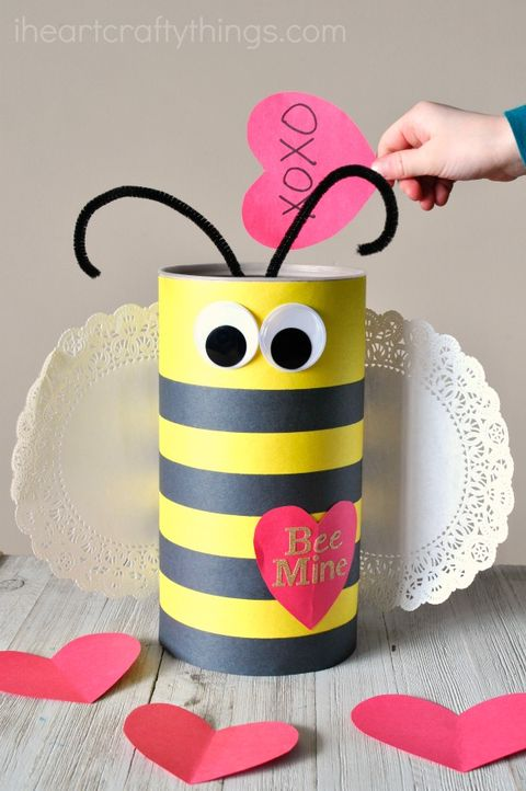 20 Cute Diy Valentine Boxes Fun Valentines Boxes For Kids To Make