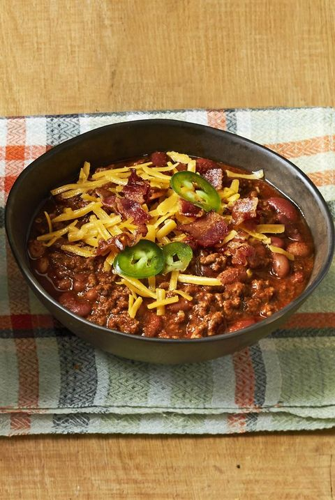 beef and bean chili fall recipes