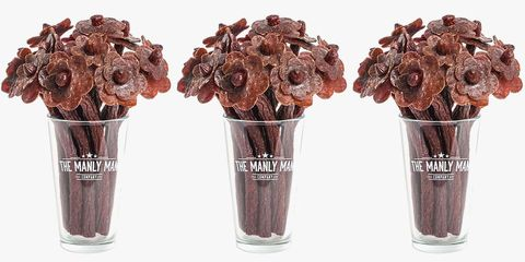Your Valentine Will Go Crazy Over This Beef Jerky Flower Bouquet
