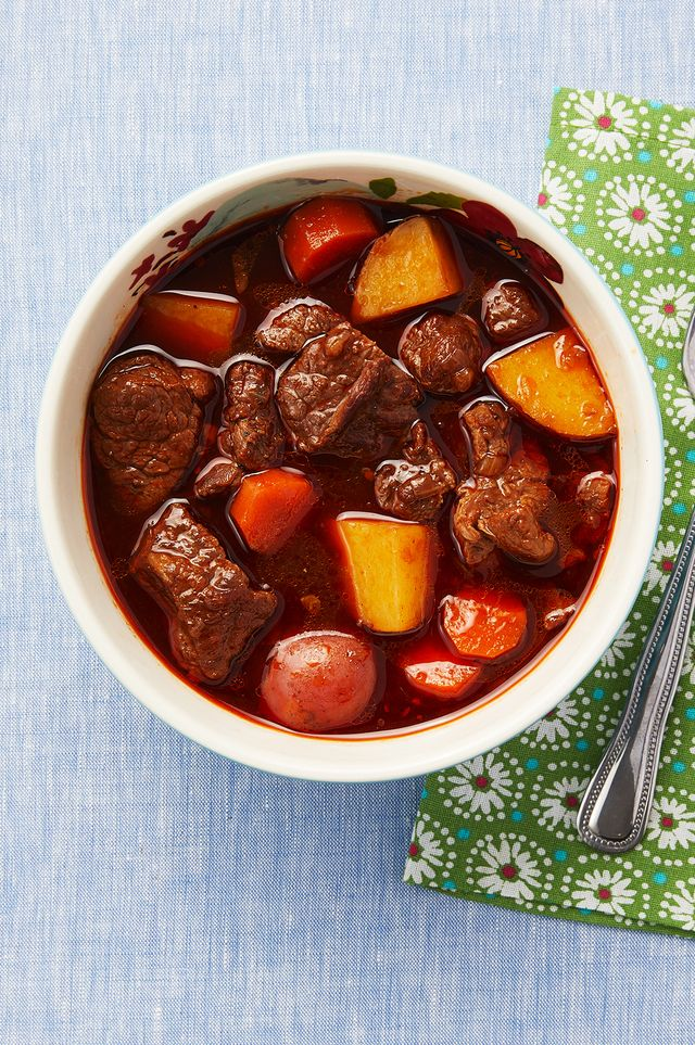 beef stew with paprika and beer