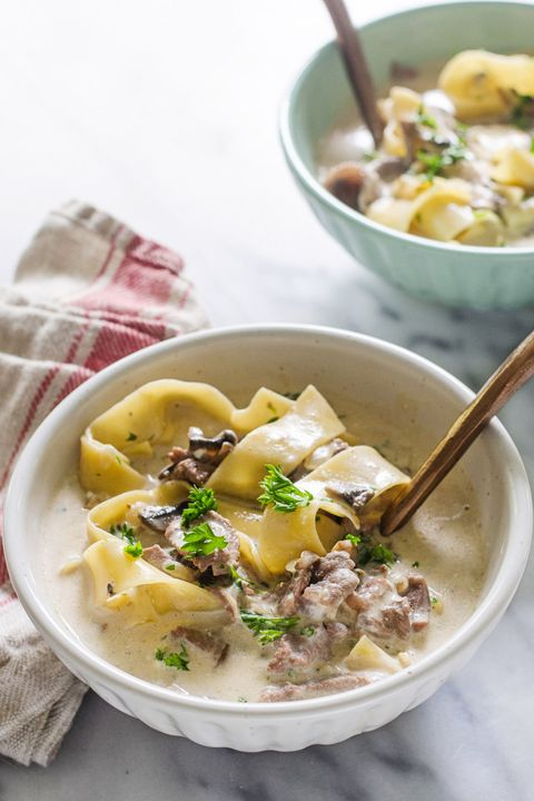 beef stroganoff soup fall soup recipes