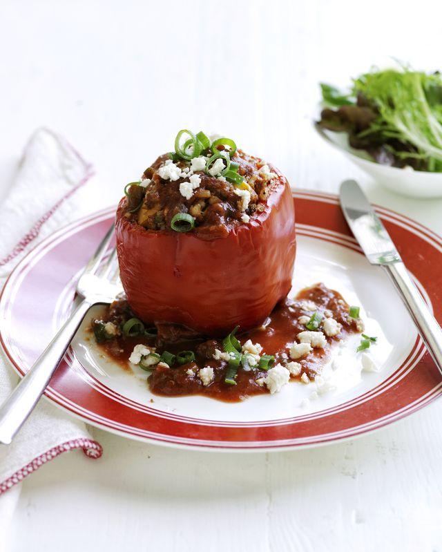 beef stuffed pepper