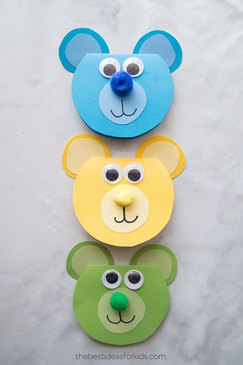 Bear card - Free Father's Day Cards