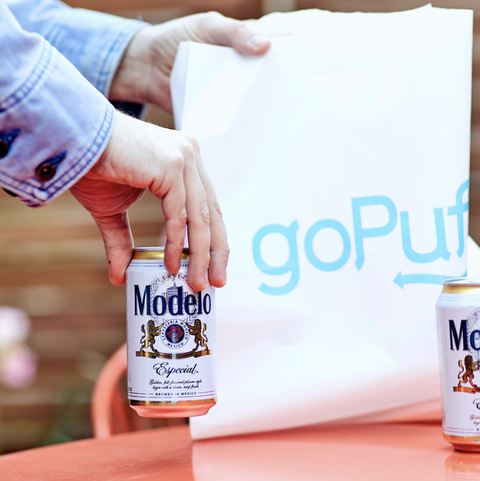 gopuff modelo beer delivery image