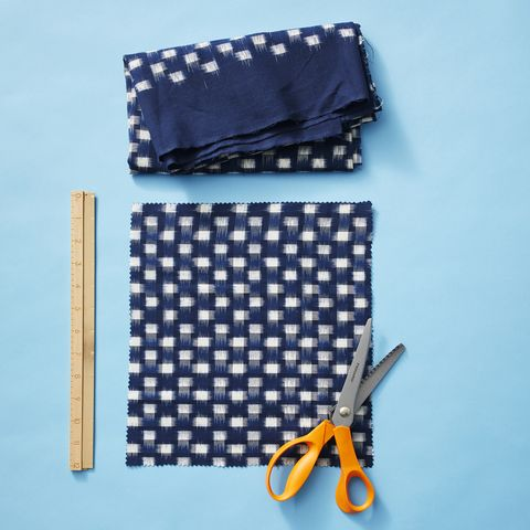 beeswax wraps cut fabric