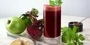Beetroot Juice with Apples and Ginger