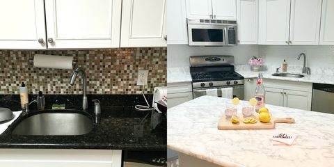 This Insane Kitchen Renovation Was Done With 9 Contact Paper From