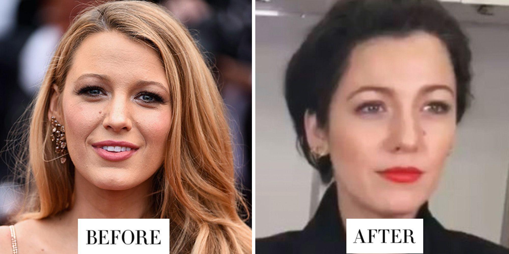 Best Celebrity Hair Transformations 2017 Celebrity Hairstyles