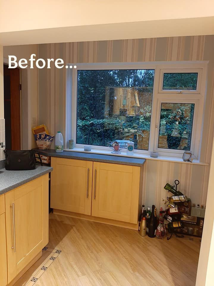 Before & After: Woman reveals impressive budget kitchen transformation – and it cost less than £700